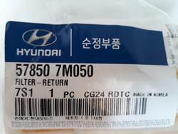 Lọc dầu thủy lực Hyundai 578507M050